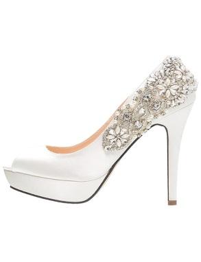 Bruidsschoenen high – heels