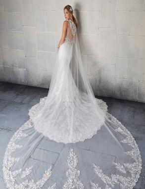 Bruidscape lang kant