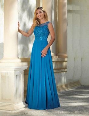 Galajurk konings blauw Le Chic bruids-galawereld